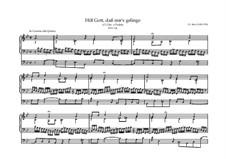 Hilf Gott, daß mir's gelinge, BWV 624: Hilf Gott, daß mir's gelinge by Johann Sebastian Bach