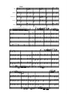 Woodwind Quintet in F Major, Op.100 No.1: Movement II by Anton Reicha