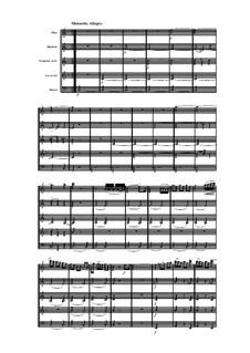 Woodwind Quintet in C Major, Op.91 No.1: Movement III by Anton Reicha