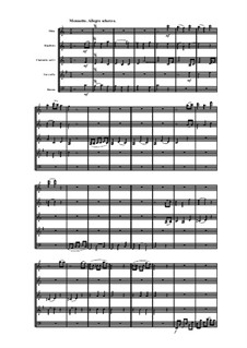 Woodwind Quintet in C Major, Op.99 No.1: Movement III by Anton Reicha