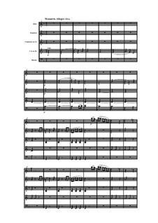 Woodwind Quintet in F Major, Op.100 No.1: Movement III by Anton Reicha