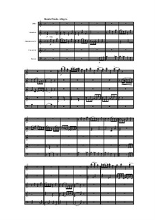 Woodwind Quintet in C Major, Op.91 No.1: Movement IV by Anton Reicha