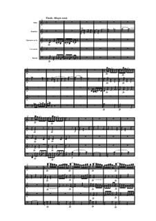 Woodwind Quintet in C Major, Op.99 No.1: Movement IV by Anton Reicha