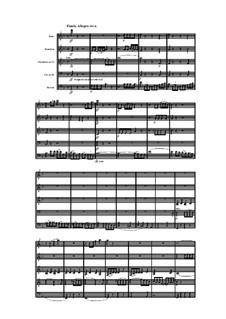 Woodwind Quintet in F Major, Op.100 No.1: Movement IV by Anton Reicha