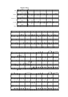 Woodwind Quintet in A Minor, Op.91 No.2: Movement III by Anton Reicha