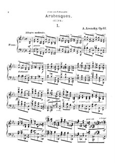 Arabesques, Op.67: Arabesques by Anton Arensky