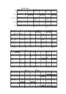Woodwind Quintet in F Minor, Op.99 No.2: Movement III by Anton Reicha