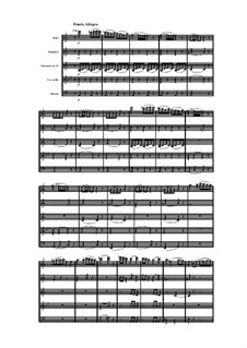 Woodwind Quintet in A Minor, Op.91 No.2: Movement IV by Anton Reicha