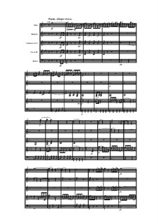 Woodwind Quintet in D Minor, Op.100 No.2: Movement IV by Anton Reicha