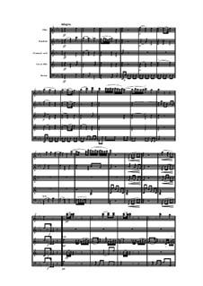 Woodwind Quintet in D Major, Op.91 No.3: Movement II by Anton Reicha
