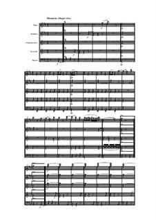 Woodwind Quintet in D Major, Op.91 No.3: Movement III by Anton Reicha