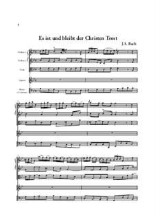 Sie werden euch in den Bann tun, BWV 44: Arie 'Es ist und bleibt, der Christen Tros' by Johann Sebastian Bach