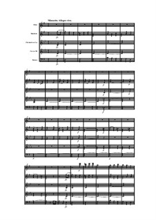 Woodwind Quintet in E Minor, Op.100 No.4: Movement III by Anton Reicha