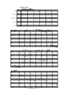 Woodwind Quintet in D Major, Op.99 No.4: Movement III by Anton Reicha