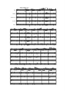 Woodwind Quintet in E Minor, Op.100 No.4: Movement IV by Anton Reicha