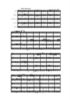Woodwind Quintet in D Major, Op.99 No.4: Movement IV by Anton Reicha