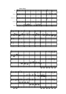 Woodwind Quintet in F Major, Op.88 No.6: Movement IV by Anton Reicha