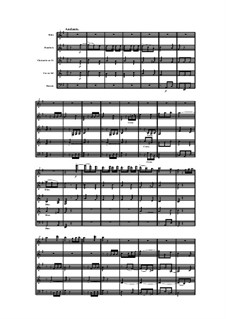 Woodwind Quintet in B Minor, Op.99 No.5: Movement II by Anton Reicha