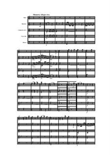 Woodwind Quintet in A Minor, Op.100 No.5: Movement III by Anton Reicha