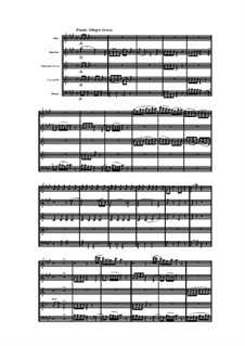 Woodwind Quintet in A Major, Op.91 No.5: Movement IV by Anton Reicha