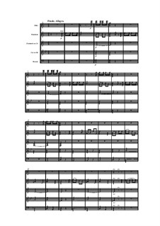 Woodwind Quintet in A Minor, Op.100 No.5: Movement IV by Anton Reicha