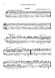 The Musical Children's Friend, Op.87: The Musical Children's Friend by Heinrich Wohlfahrt