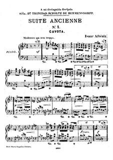Ancient Suite No.1: Gavotte by Isaac Albéniz