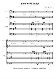 Mass of God the Father: Full score by Stephen DeCesare
