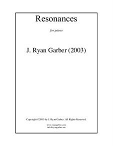 Resonances: Resonances by Ryan Garber