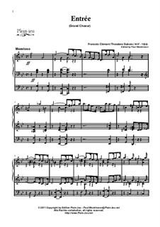Entrée (Grand Choeur): Entrée (Grand Choeur) by Théodore Dubois
