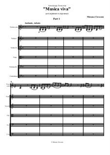 Musika viva: Musika viva by Mikhail Gogolin