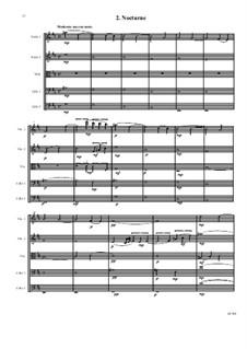 String quintet (2 violins, viola, 2 cellos): String quintet (2 violins, viola, 2 cellos) by David W Solomons