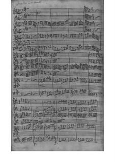 Concerto grosso in E Flat Major, Fwv L: Es 1: Full score by Johann Friedrich Fasch