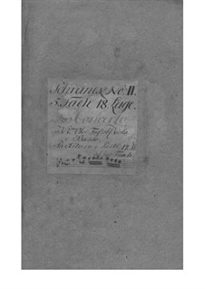 Concerto grosso in E Flat Major, Fwv L: Es 1: Parts by Johann Friedrich Fasch