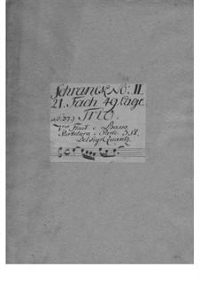 Trio Sonata for Violin, Flute and Basso Continuo in G Major, QV 2:29: Trio Sonata for Violin, Flute and Basso Continuo in G Major by Johann Joachim Quantz