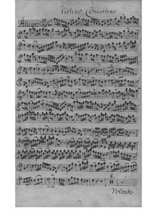 Sonata da chiesa for Violin, Oboe, Strings and Basso Continuo – Parts, SeiH 245: Sonata da chiesa for Violin, Oboe, Strings and Basso Continuo – Parts by Johann David Heinichen