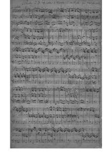 Trio Sonata for Two Oboes and Basso Continuo in C Minor, SeiH 259 Hwv III:15: Trio Sonata for Two Oboes and Basso Continuo in C Minor by Johann David Heinichen