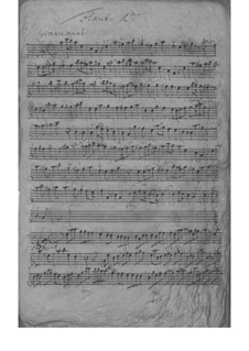 Concerto for Two Flutes, Strings and Basso Continuo in A Minor, TWV 52:a2: Concerto for Two Flutes, Strings and Basso Continuo in A Minor by Georg Philipp Telemann