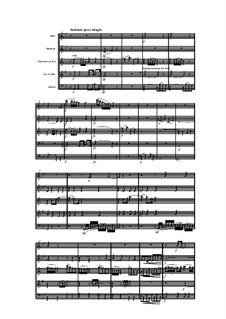 Woodwind Quintet in B Flat Major, Op.100 No.6: Movement II by Anton Reicha