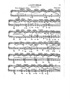 Nocturne No.3: For piano by Franz Liszt