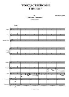 Christmas hymns: Christmas hymns by Mikhail Gogolin