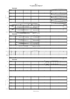 With a birth of the Christ: Full score by Mikhail Gogolin