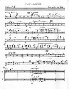 Pura Besakih: Orchestral parts by Nancy Van de Vate