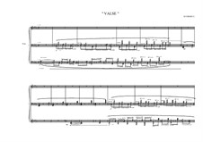 Waltz for piano, MVWV 224: Waltz for piano by Maurice Verheul