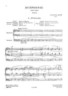 Symphony for Organ, Op.5: Symphony for Organ by Augustin Barié