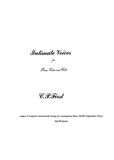 Intimate Voices: Intimate Voices by C. P. First