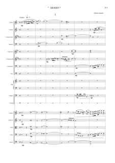 Desert, Op.34: Act I by Nikolas Giamalis