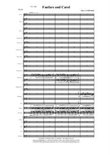 Fanfare and Carol: Fanfare and Carol by Gary Edwards