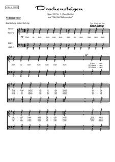 Die 5 Jahreszeiten, Op.102: Nr.3: Zum Herbst, für Männerchor by Bernd Gehring
