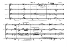 Clarinet Quartet (4 Clarinets), MVWV 45: Clarinet Quartet (4 Clarinets) by Maurice Verheul